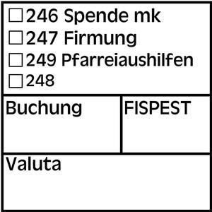 Stempel-Bestellung 371101
